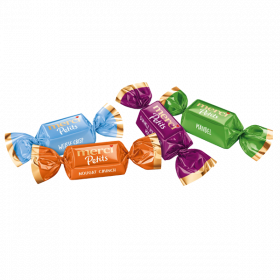 merci Petits Crunch Collection – Feine Pralinen in 4 köstlichen Sorten -